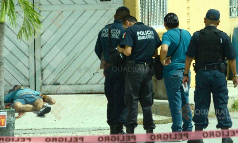 Suman ya 5 asesinatos este lunes en zona norte de Quintana Roo