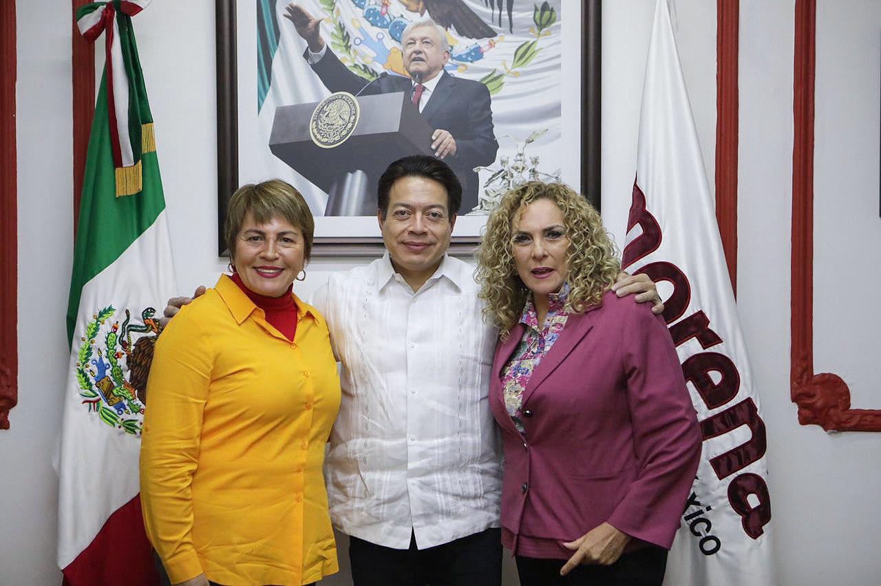 Mario Delgado reconoce trabajo de Laura Beristain en Solidaridad -  Quadratin Quintana Roo