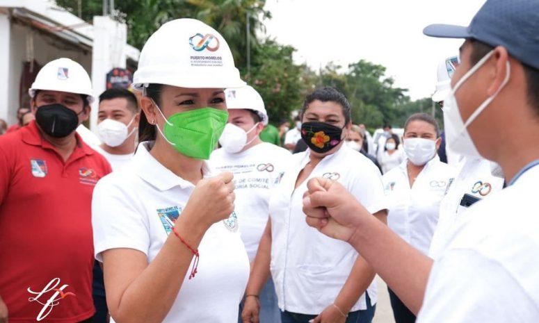 Va Laura Fernández por candidatura a diputada federal