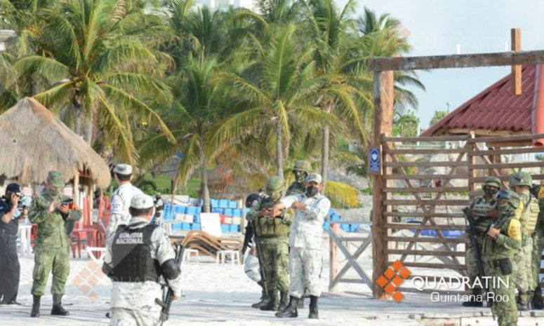 Liberan a Playa Tortugas de mobiliario instalado de manera irregular