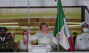 Viva México y Solidaridad: Laura Beristain