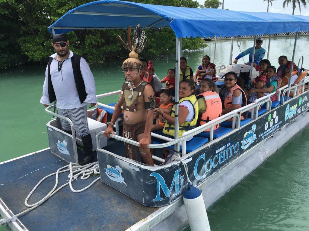 Mayas y piratas invadirán la Bahía de Chetumal - Quadratin Quintana Roo